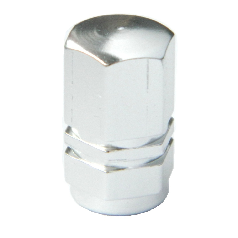 Szelepsapka alu HEXA ezüst