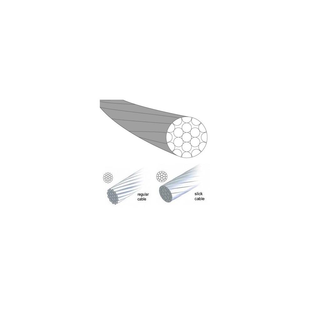 Fékbowden 1,5x2050mm SLICK