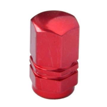 Szelepsapka alu HEXA piros