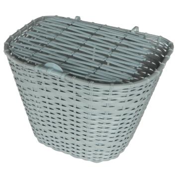 Kosár első szürke műanyag