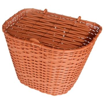 Kosár első barna műanyag